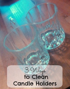 3 Ways to Clean Candle Holders | DIYfaerie