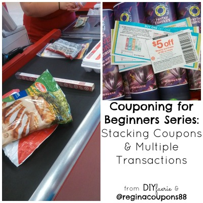 Couponing for Beginners Series: Stacking Coupons & Multiple Transactions | DIYfaerie